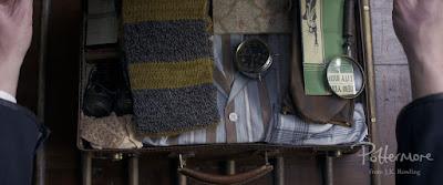 """L'interno della valigia """"Babbanabile"""" di Newt"""