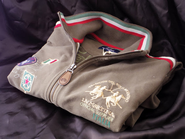 ラ マルティナのトラックジャケット