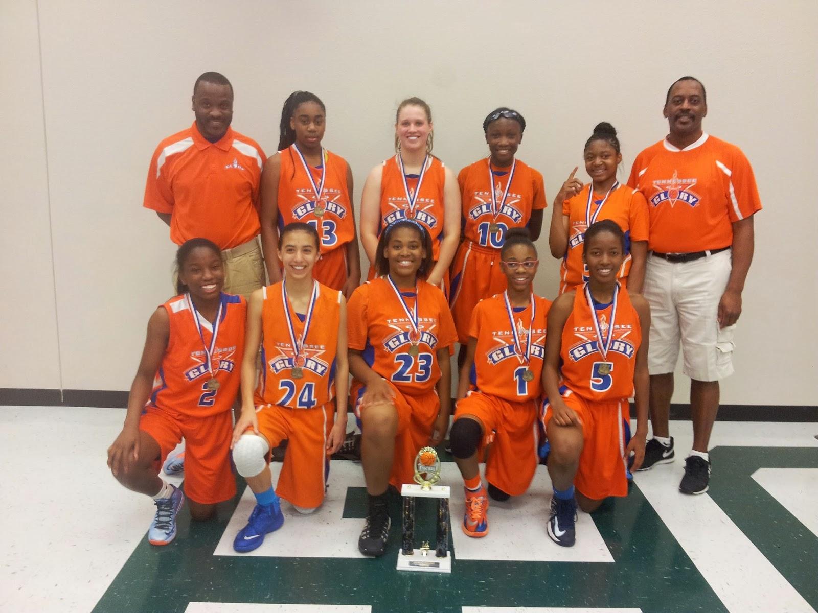 Memphis Girls Basketball: Team Tennessee Glory 9th Grade