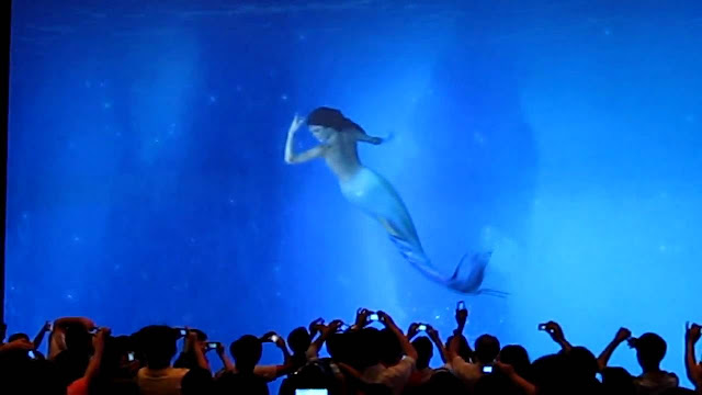 Virtual Aquarium at City of Dreams