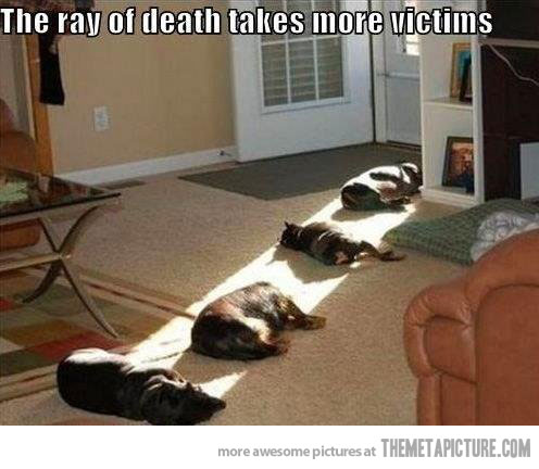 ray of death