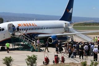 La temporada pasada un firma hizo vuelos con apoyo de ambos gobiernos regionales.