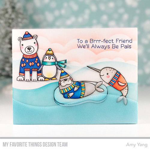 Handmade card by Amy Yang featuring products My Favorite Things #mftstamps