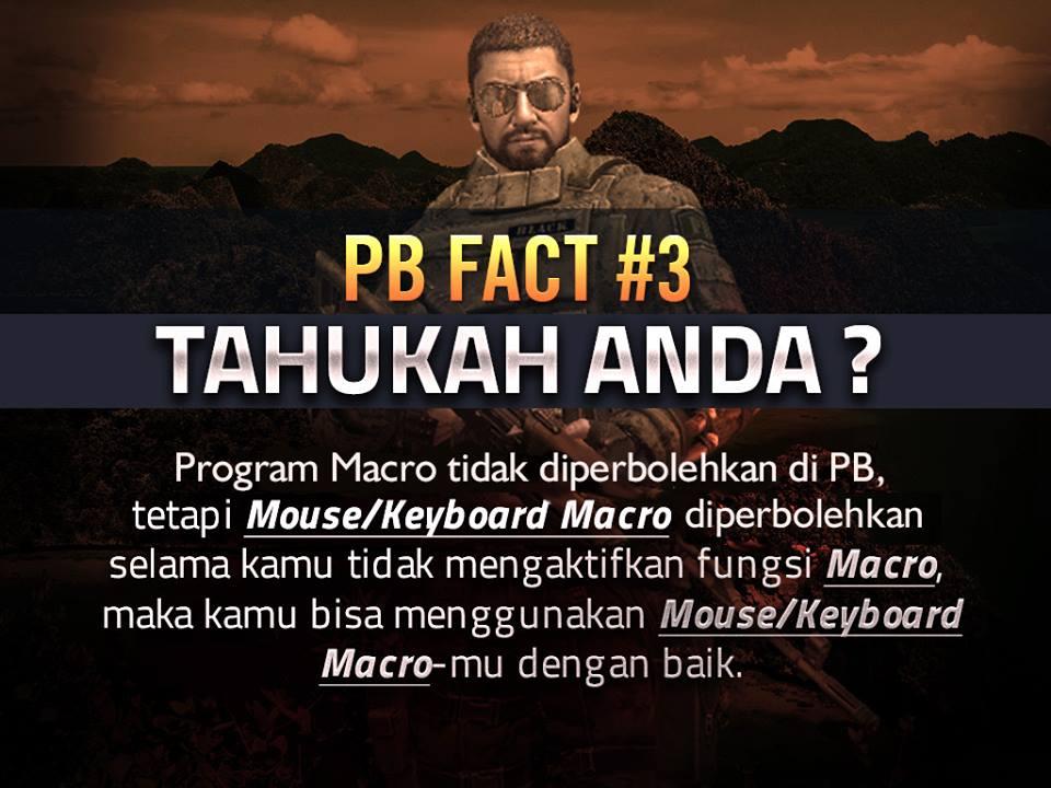 Pernyataan Resmi PB Garena Indonesia Tentang Penggunaan Mouse Macro