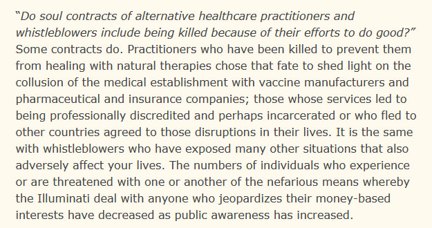 murder of naturopathic, holistic doctors by Matthew Ward