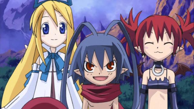 El trio principal de la serie que recorre medio Overworld