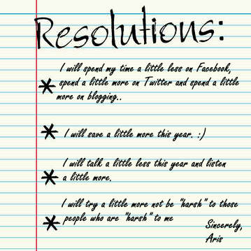 my new year s resolution edition wandering pinoy resolutions blank list