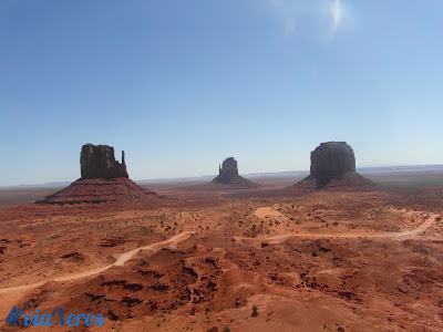 Vistas de Monument valley desde el hotel The view