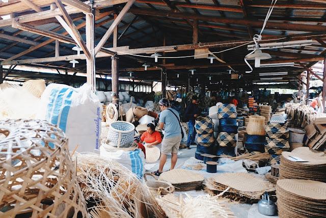 pabrik kerajinan bambu di desa wisata malangan yogyakarta
