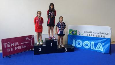 A mesatenista Registrense Karina Shiray é convocada pela Confederação Brasileira de Tênis de Mesa