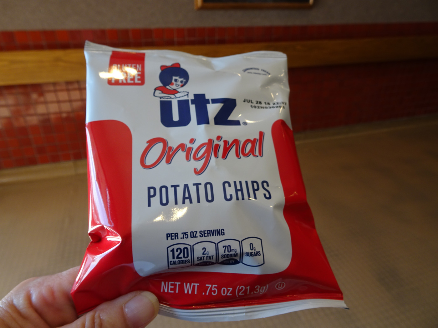 Mark & Teri's Travels: Utz Chips (The Chip Trip)
