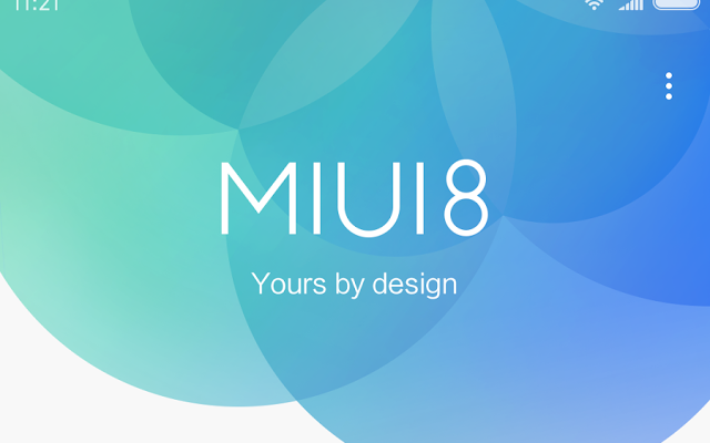 Redmi note 3 Miui 8