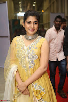 Nivetha Thamos in bright yellow dress at Ninnu Kori pre release function ~  Exclusive (30).JPG