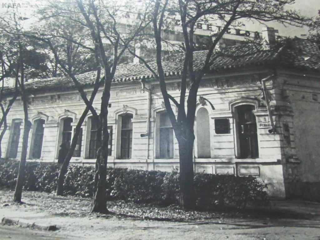 Дом в Феодосии, в котором жила Вера Мухина