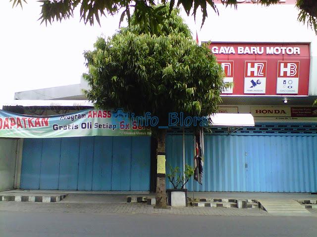 Honda GAYA BARU Motor
