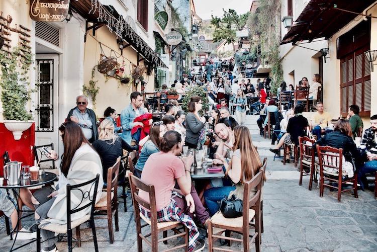 Plaka Athens, Plaka Ateny gdzie zjeść