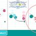 لعبة ذكاء تعتمد على رسم الخطوط أو الأشكال لإصطدام الكرات ببعضها