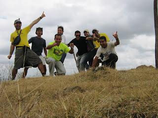 Cerro Galano, cima.