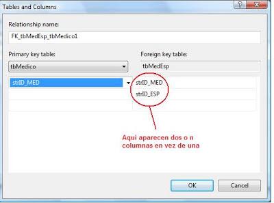foreing key complejo SQL Server