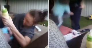 Νταντά έδερνε και βασάνιζε παιδάκι κλείνοντάς του την μύτη για να μην μπορεί να αναπνεύσει - ΒΙΝΤΕΟ
