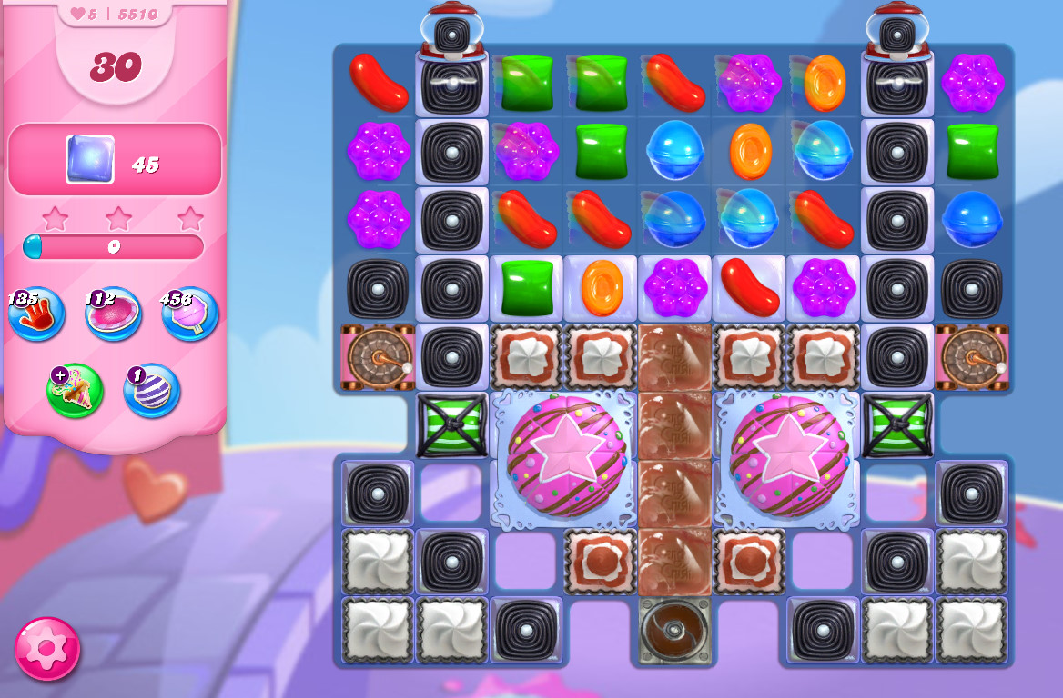 Candy Crush Saga level 5510