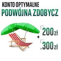 Wakacje z kontem - do 500 zł za Konto Optymalne w BGŻ BNP Paribas