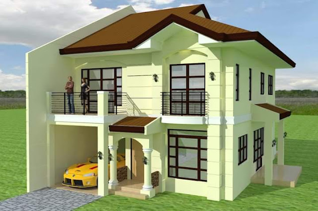 Two%2BStory%2BHouse%2BDesign%2Bin%2Bthe%2BPhilippines%2B%25282%2529 - 23+ Small Two Story House Design Philippines  PNG
