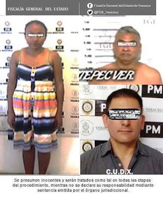 Procede Fiscalía Regional contra probables pederastas,  en Misantla, Coatepec y Xalapa