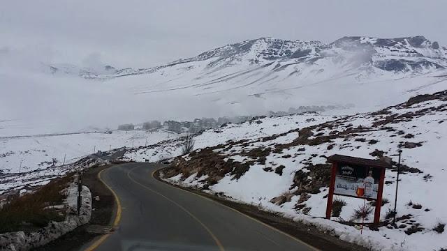 Como chegar na estação de esqui El Colorado?