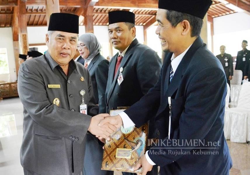 Sepuluh Pejabat Eselon II Dirotasi, Kepala DPUPR dan BKPPD Kebumen Dikosongkan
