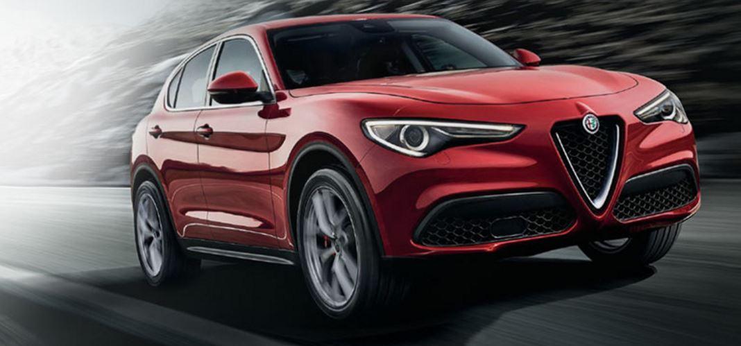 Alfa Romeo Stelvio First Edition colore rosso