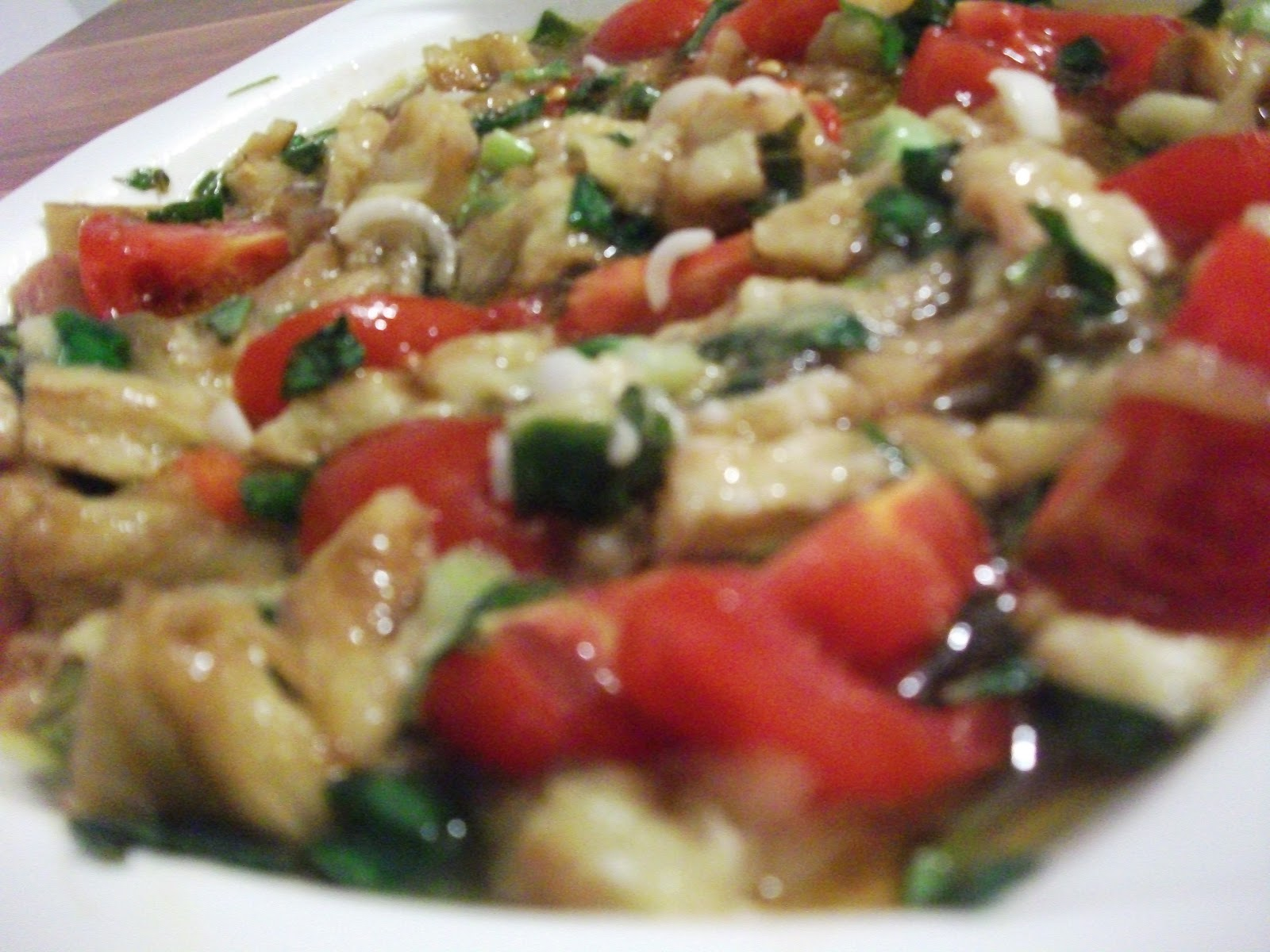 Közlenmiş Patlıcanlı Kabak