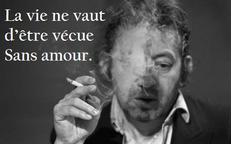 gainsbourg citations amour