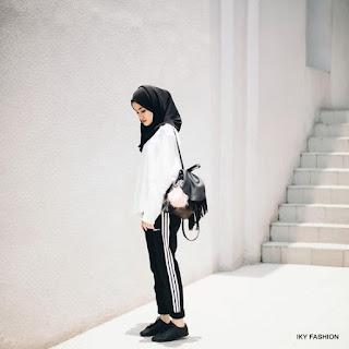 model celana jogger wanita remaja