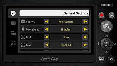 تطبيق الكاميرا الإحترافية Lumio Cam مدفوع للأندرويد