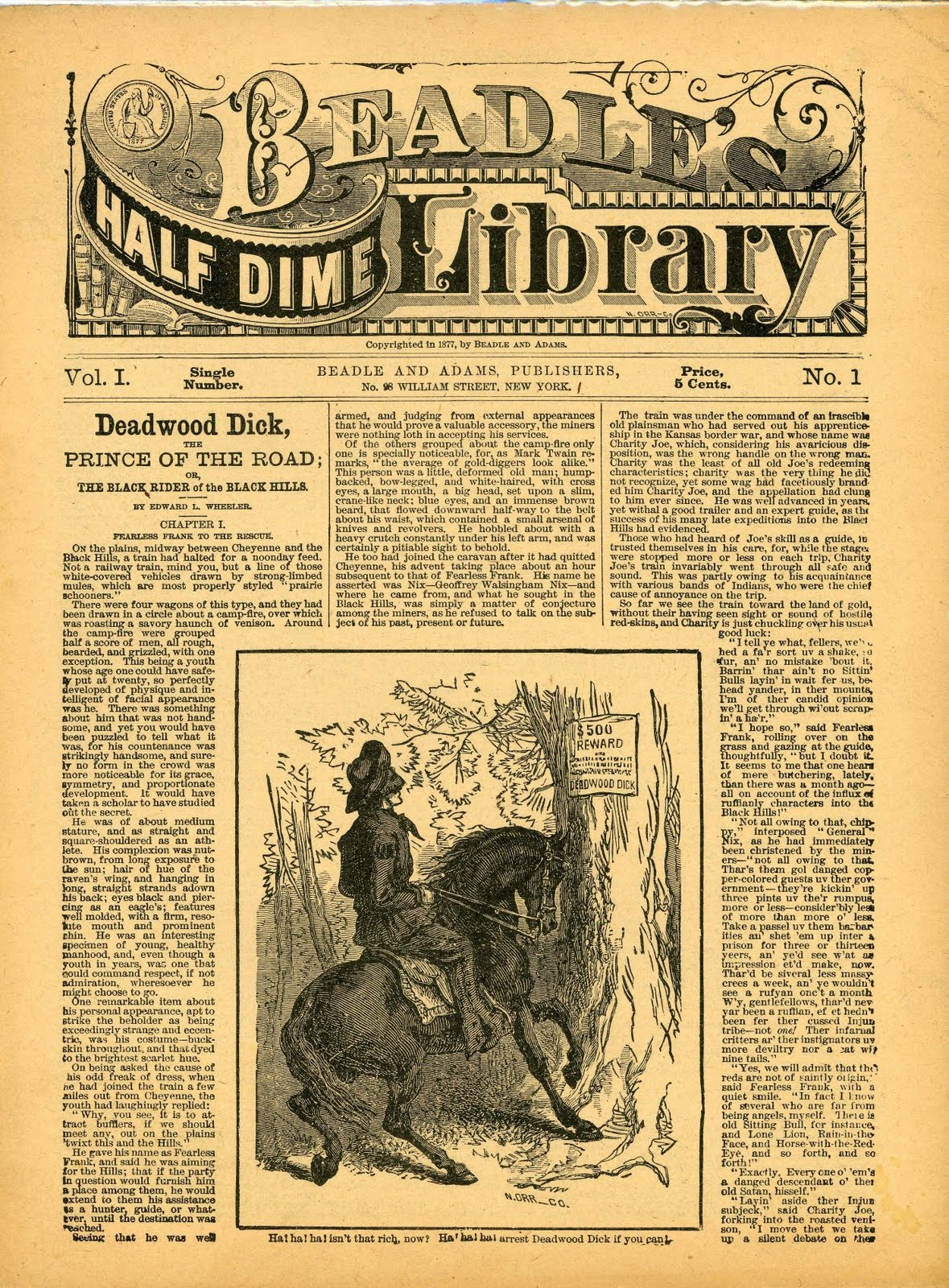 nineteenth century sensational fiction dime novels essay Free essay: nineteenth century sensational fiction: dime novels in the late nineteenth century, a new form of sensational fiction emerged called dime novels.