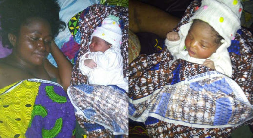Woman Pregnant For Over 4 Years, Gives Birth After Husband Left Her (Photos)