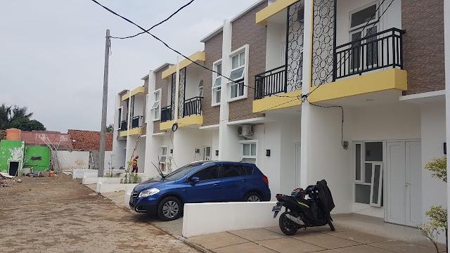 Jual Rumah Cluster Lokasi Strategis 2 lantai Dekat Commuter Sudimara