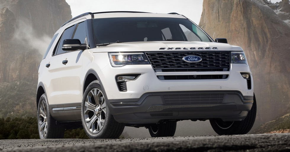 NY Show: 2018 Ford Explorer Gets Minor Revisions Before ...