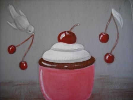 distributeur serviettes cup cake cours peinture. Black Bedroom Furniture Sets. Home Design Ideas