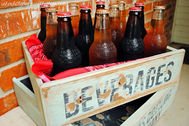 Vintage Soda Crate Uses