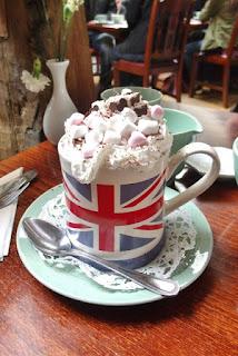 afternoon tea at  The Fourteas, Stratford Upon Avon