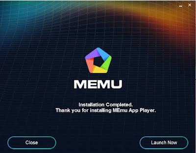 Open Menu App Player