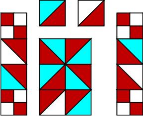 How to make a quilt block tutorial by The Quilt Ladies