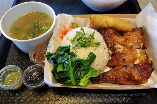 D'elephant Thai Street Food, Glen Waverley, grilled chicken rice