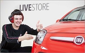 [未來商務力] 飛雅特Live Store在家即可賞車,數位串連實體