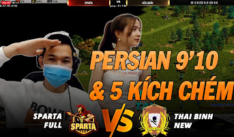 SPARTA FULL vs THAI BINH NEW: PERSIAN KÍCH 9