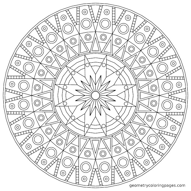Mandala Coloring Pages Games With Excellent Page By To Print