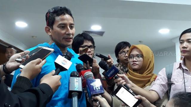 Buntut Aksi Persekusi Masa di CFD Jakarta, Relawan Jokowi Sindir Sandiaga Uno Yang Dianggap Terlibat Kerja Politik: Kalau Mau Cuti Silahkan Curi, Biar Masyarakat....