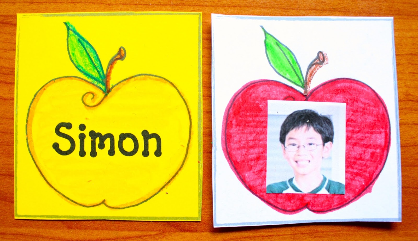 Apple Themed Name Writing Activities